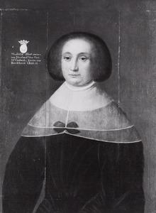 Portret van een vrouw, waarschijnlijk Mechteld Anna von Ledebur (?-?)