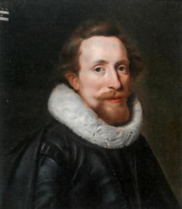 Portret van Pieter Arentsz. van der Graeff (1590-1625)