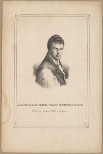 Portret van Alexander von Humboldt (1769-1859)