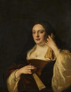 Portret van een vrouw, mogelijk Rebecca Schellingwou (....-1667)