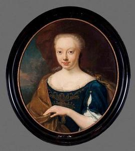 Portret van Anna Catharina Hora (1718-1738)