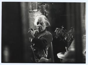 Raoul Hynckes met pijp, voorjaar '67