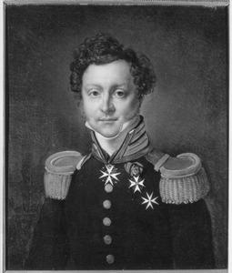 Portret van Jules Thierry de Constant Rebecque de Villars (1787-1837)