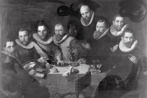 Schuttersmaaltijd van het korporaalschap van kapitein Pieter van Neck