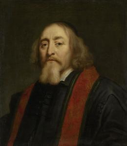 Portret van Jan Amos Comenius (1592-1670)