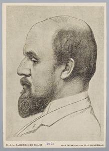 Portret van Lodewijk van Deyssel (1864-1952)