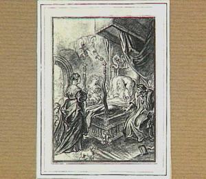 H. Franciscus van Paula verschijnt aan Louise de Savoye
