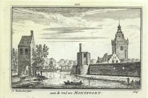 Stadswal van Montfoort, met rechts kasteel Montfoort