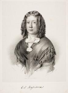 Portret van Elisabeth Johanna Hasebroek (1811-1887)