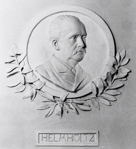 Portret van Hermann Ludwig Ferdinand von Helmholtz (1821-1894)