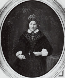 Portret van Elisa Sibilla Frederike Schwanenberg (1819-1893)