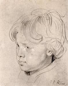 Studie van Nicolaes Rubens (1618-1673)