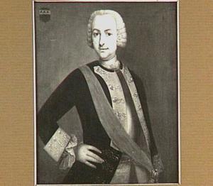 Portret van Frederik Hendrik van der Steen (1717-1760)