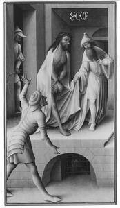 Ecce Homo (op de binnenzijde: Christus met Philippe Hannock en zijn overleden vrouw Maria Collisone)