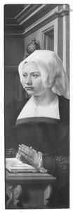 Portret van een stichtster