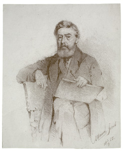 Portret van de schilder J. Th. Abels