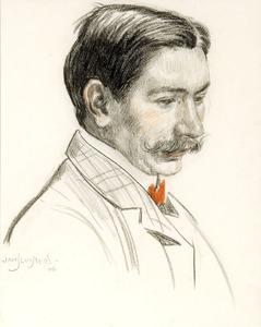 Portret van Henri Bakker (1878-1933)