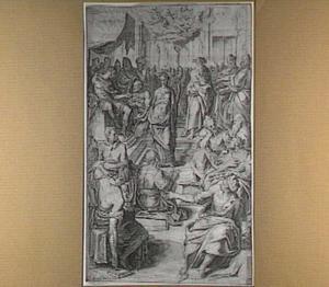 Het dispuut van de H. Catharina van Alexandrië met keizer Maxentius en de vijftig wijzen