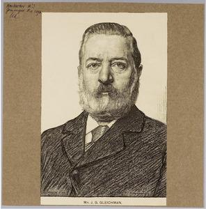 Portret van mr. J.G. Gleichman
