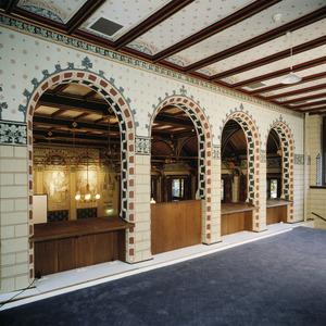 Galerij van de statenzaal van het voormalige provinciehuis van Drenthe