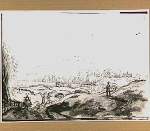 Duinlandschap in de omgeving van Aerdenhout