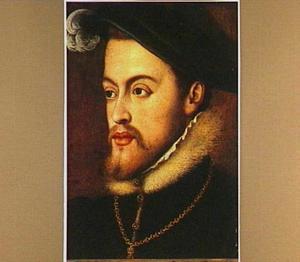 Portret van koning Filips II van Spanje
