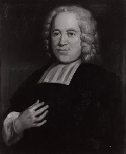 Portret van Abraham Wieling (1693-1746), hoogleraar Rechten in Utrecht 1739-1746