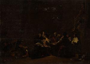 Paschur slaat Jeremia in de boeien in de tempel (Jeremia 20:2)