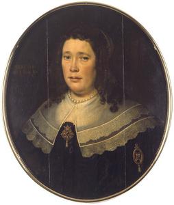 Portret van een 48-jarige vrouw