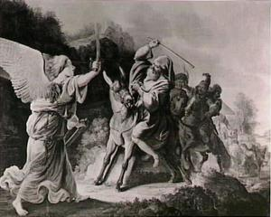 Bileam en de ezel (Numeri 22:22-23)