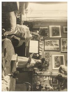 Dubbelportret, mogelijk van Cornelia Hermina Anna van Heemstra (1897-1988) en Wilhelmina Louisa Maria van Heemstra (1899-1971)