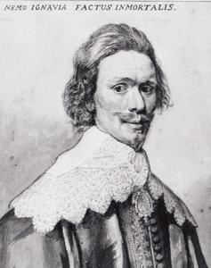 Portret van Dirck Graswinckel (1600-1666)