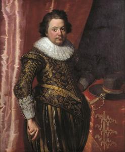 Portret van een man ten onrechte genaamd Johan Wolphert van Brederode (1599-1655)
