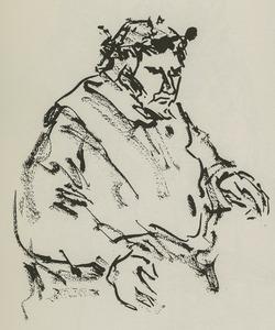 Portret van Albert van Dalsum (1889-1971)