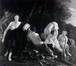 Rustende Diana met haar badende nimfen