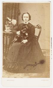 Portret van Carolina Maria van Lynden (1824-1901)