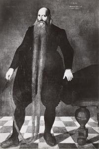 Portret van Pieter Dircksz (1528-1606), genaamd Langbaard