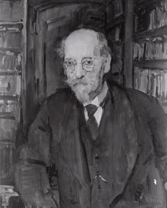Portret van prof.dr. Sebald Rudolf Steinmetz (1862-1940)