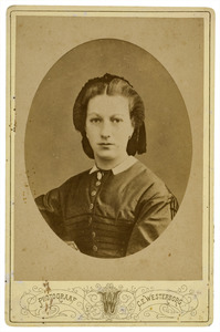 Portret van Adriana Cornelia Dupper (1844-1881)