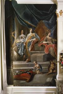 Vrouwe Justitia en de Amsterdamse stedemaagd