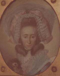 Portret van Anna Margaretha Bouwmeester (1755-1803)