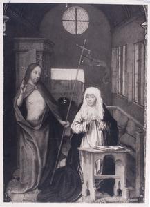 Christus verschijnt aan zijn moeder na zijn terugkeer uit het voorgeborchte