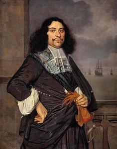 Portret van Jan van Nes (1631-1680)