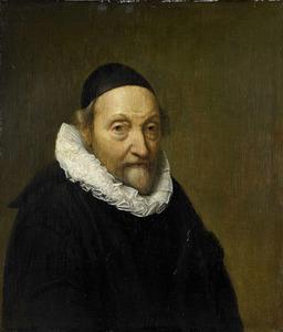 Portret van Johannes Wttenbogaert (1557-1644)