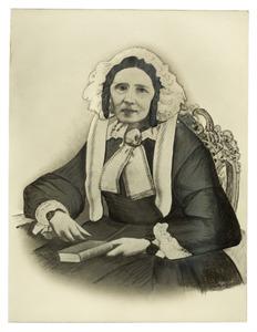 Portret van Catharina Wilhelmina Dijckmeester (1800-1861)