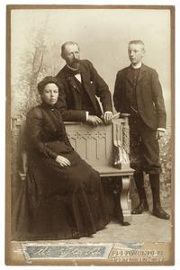 Portret van familie de Gavere