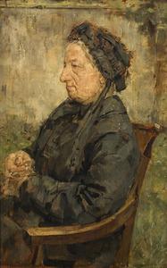 Portret van mevrouw Schaap-Hymans