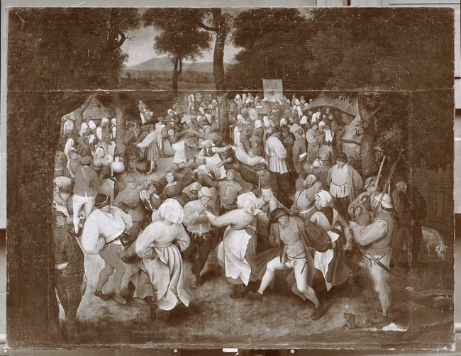 "toegeschreven aan <a class=""recordlink artists"" href=""/explore/artists/13293"" title=""Pieter Brueghel (II)""><span class=""text"">Pieter Brueghel (II)</span></a> vrij naar <a class=""recordlink artists"" href=""/explore/artists/13292"" title=""Pieter Bruegel (I)""><span class=""text"">Pieter Bruegel (I)</span></a>"