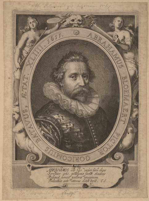 "<a class=""recordlink artists"" href=""/explore/artists/76189"" title=""Willem van Swanenburg""><span class=""text"">Willem van Swanenburg</span></a> after <a class=""recordlink artists"" href=""/explore/artists/57653"" title=""Paulus Moreelse""><span class=""text"">Paulus Moreelse</span></a>"
