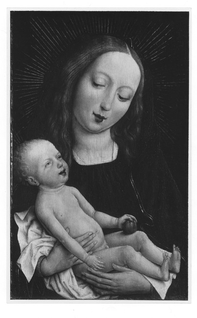 "free after <a class=""recordlink artists"" href=""/explore/artists/83963"" title=""Rogier van der Weyden""><span class=""text"">Rogier van der Weyden</span></a> possibly <a class=""recordlink artists"" href=""/explore/artists/112114"" title=""Master of the Magdalen Legend""><span class=""text"">Master of the Magdalen Legend</span></a>"